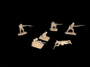 Classic Toy soldiers WWII Japanese Infantry, 12 figures in 6 poses in tan