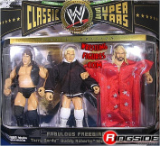 FREEBIRDS (MICHAEL HAYES, TERRY GORDY & BUDDY ROBERTS) CLASSIC SUPERSTARS 3-PACK WWE TOY WRESTLING ACTION FIGURES