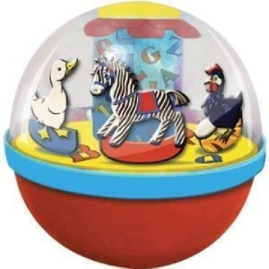 Schylling ABC Collection Tin Chime Ball