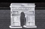 Metal Works Arc de Triomphe 3D Laser Cut Model Marvel