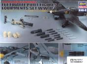 Hasegawa 1/48 WW II Luftwaffe Pilot & Equipment