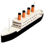 Wood Model Kit-Titanic