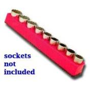 Mechanics Time Saver MTS1281 1/2 in. Drive Magnetic Red Socket Holder 10-19mm