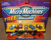 Micro Machines Cool Customs #2 + 5 Bonus Cars Collection