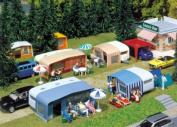 Faller 130503 Set Of Camping Caravans