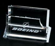 Optical Crystal Business Card Holders