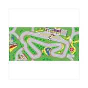 Learning Carpets LC205 Racetrack Multi Kids Carpet
