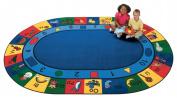 Carpets For Kids 1301 Blocks of Fun 4.42 ft. x 5.83 ft. Rectangle Carpet
