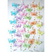 Pink Butterflies on a String