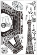 Roommate RMK1576GM Eiffel Tower Giant Wall Decals