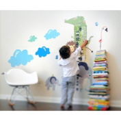 Pop and Lolli How Tall Am I. Growth Chart Wall Stickers