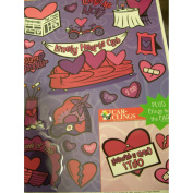 Valentine Window Clings ~ Lonely Hearts Club