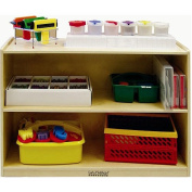 Early Childhood Resources Deep-Shelf Module with Solid Back