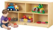 Jonti-Craft 0324TK Thriftykydz Toddler Single Mobile Storage Unit