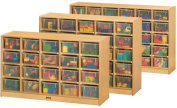Jonti-Craft 0420TK Thriftykydz 20 Tray Mobile Cubbie Without Trays