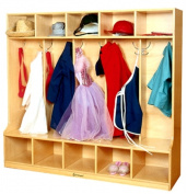A+ Childsupply F8063 Plywood Coat Locker