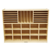 Multi-Section Storage Cabinet