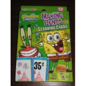 Nickelodeon Spongebob Squarepants Money Making Cents Learning Cards