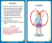 Upper Body and Core Exercise Cards for Kids - Super Duper Fun Educational Toy