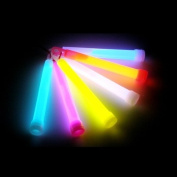 """6"""" Glow Sticks, 24 Sticks,in Mixed Colours"""