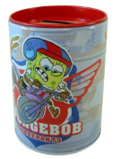 Spongebob tin coin collector- Nick Jr. character piggy bank [Toy]