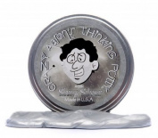 Crazy Aarons Puttyworld SS020 Shiny Silver Metallic Thinking Putty