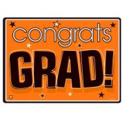 Costumes 202531 Congrats Grad Orange Graduation Cutouts