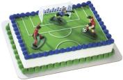 Boys Soccer Cake Decorating Kit