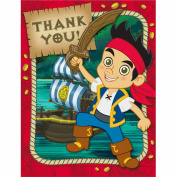 Hallmark Disney Jake And The Never Land Pirates Thank-You Notes