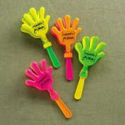 Rite Lite TYP-13178 Hand Clapping Purim Graggers - 24/Display - Pack Of 24