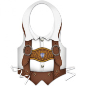Beistle - 66859 - Plastic Oktoberfest Vest - Pack of 48