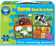 Farm Four In A Box - First Counting Puzzles