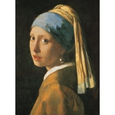 Girl with a Pearl Earring - Vermeer - 1000 Piece Puzzle