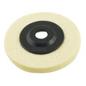 Como Plastic Lid 10cm Outside Dia Nylon Polishing Metal Grinding Wheel White