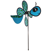 In The Breeze ITB2819 Dragonfly Baby Bug Spinning Garden Stake