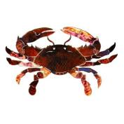 Next Innovations WA3DMCRABOR 3D Wall Art - Crab Orange Refraxions