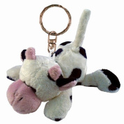 Puzzled 5820 Plush Keychain - Cow