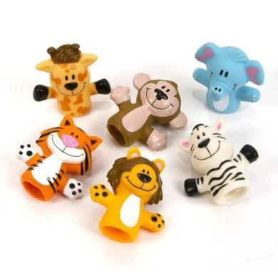 Zoo Animal Finger Puppets - 12 per unit