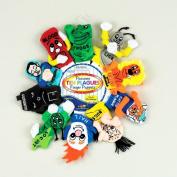Rite Lite TYPP-PUP-TEN Passover Ten Plagues Finger Puppets- Pack of 3