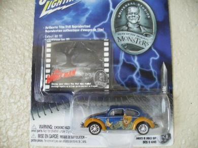 Johnny Lightning Volkswagen 66 Beetle the Wolf Man