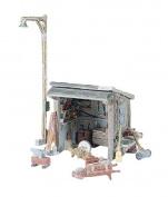 Woodland Scenics HO Tool Shed WOOD216