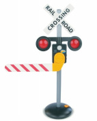 Kids Toy Railroad Crossing Train Talking Electronic Sign for Ride on Vehicle Outdoor Play