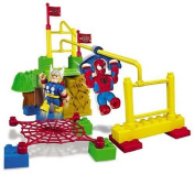 Mega Bloks Spiderman & Friends Booster Playset - Super Hero Training Camp