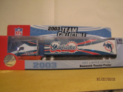 2003 NFL Team Collectible Fleer Limited edition Miami Dolphins 1:80 scale Tractor Trailer