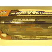 NFL New York Giants 2003 1:50 Scale Limited Edition Die-cast Winnebago