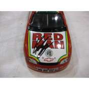 SIGNED Nascar Die-cast #99 Kevin LaPage Red Man Racing Team REPLICA of a 1999 Monte Carlo Series Authentic Collector's Model Car in a 1:24 scale Manufactured by Team Calibre