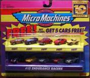 Micro Machines Endurance Racers #15 Collection w/5 Bonus Cars