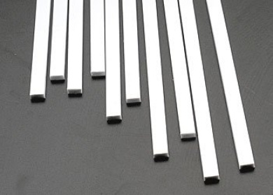 Plastruct MS-1225 Rect Strip,.125x.250(10) PLS90789