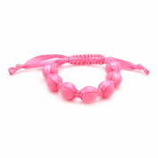Chewbeads Cornelia Bracelet - Punchy Pink