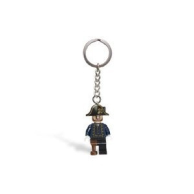 LEGO Pirates of the Caribbean Captain Hector Barbossa Key Chain 853189